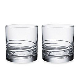 Orrefors Swerve Double Old Fashioned Glasses (Set of 2)