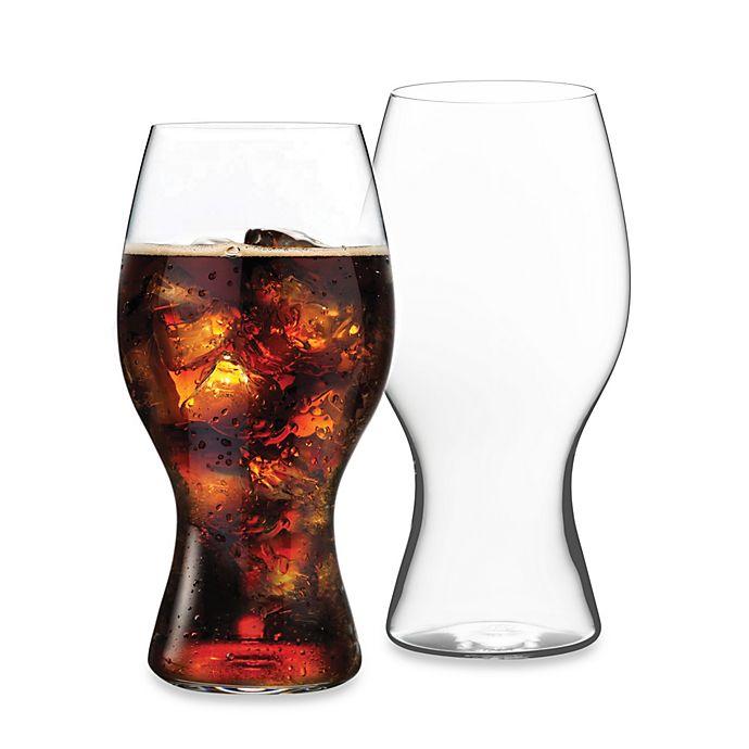 Alternate image 1 for Riedel® 17 oz. Coca Cola® Glasses (Set of 2)