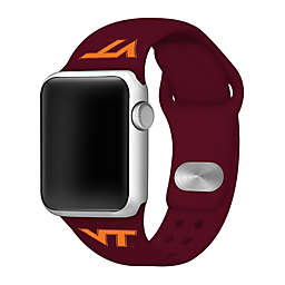 Virginia Tech University Apple Watch® Short Silicone Band in Maroon