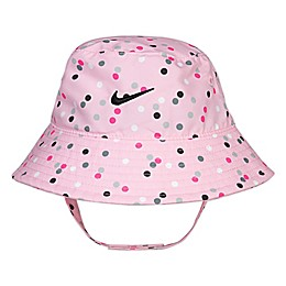 Nike® Dri-FIT® Size 12-24M Bucket Hat in Pink/Pola Dot