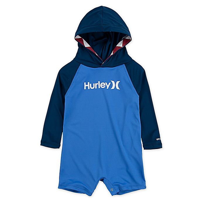 Alternate image 1 for Hurley® Shark Bait Hooded 1-piece Wet Suit