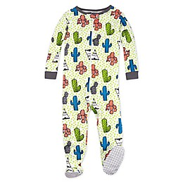 Lamaze® Cactus and Teepee Organic Cotton Stretchie Footie in Green