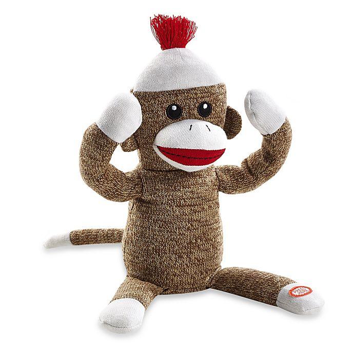 Baby Starters® Soft Plush Peekaboo Sock Monkey Toy | buybuy BABY