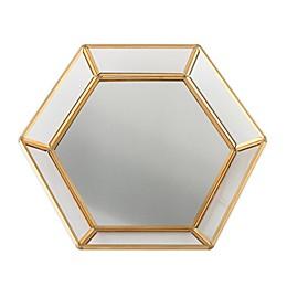 Lillian Rose™ Gold Edge Guestbook Alternative Mirrored Tray