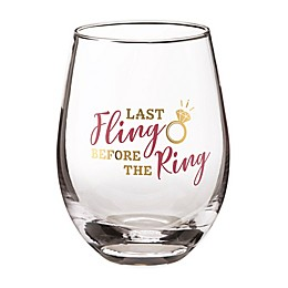 Lillian Rose™ Last Fling Stemless Wine Glasses (Set of 4)