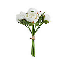 Elements 13-inch Faux Peony Bouquet
