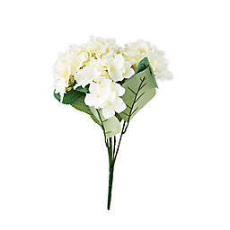 Elements 18-Inch Faux Hydrangea Bouquet in Ivory