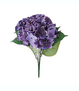 Ramo de hortensias artificiales Elements de 45.72 cm en ciruela