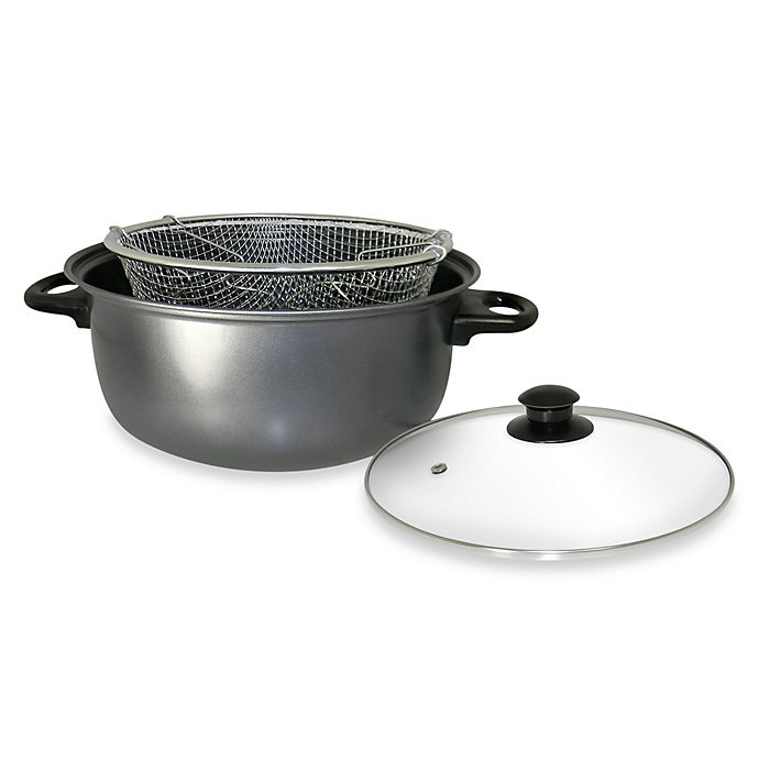 Alternate image 1 for Cook Pro® 4.5-Quart Carbon Steel Deep Fryer
