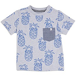 Sovereign Code™ Pineapple Toddler T-Shirt in Grey