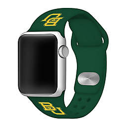 Baylor University Apple Watch® 38MM/40MM Short Silicone Band in Green