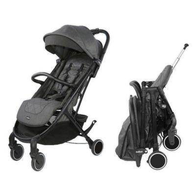 Evezo Channy Single Lightweight Stroller in Black