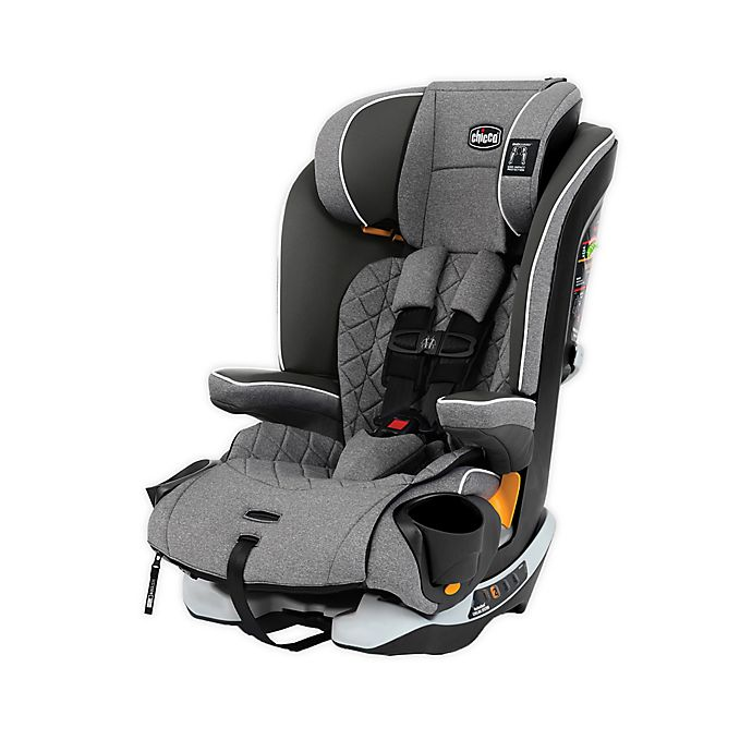 Alternate image 1 for Chicco MyFit® Zip Harness + Booster Car Seat in Granite