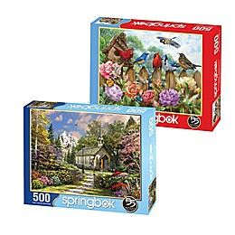 Springbok® Morning View 500-Piece 2-Pack Jigsaw Puzzles