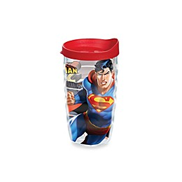 Tervis® Warner Brothers® Superman 10-Ounce Wavy Wrap Tumbler with Lid