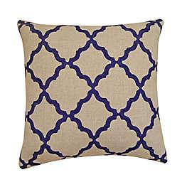 One Kings Lane Open House™ Brighton Fret Square Throw Pillow