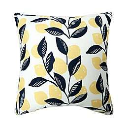 One Kings Lane Open House™ Lemon Tree Indoor/Outdoor Square Throw Pillow