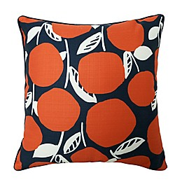 One Kings Lane Open House™ Orange Tree Indoor/Outdoor Square Throw Pillow