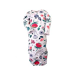 Kidding Around Size 0-3M 2-Pack Floral Nightgowns