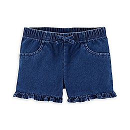 carter's® Pull-On Ruffle Short in Denim