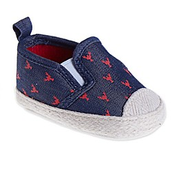 Stepping Stones Lobster Casual Slip-On Shoe in Navy