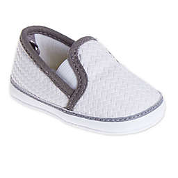 Stepping Stones Woven Casual Slip-On Shoe in White