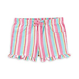 carter's® Striped Pull-On Twill Shorts