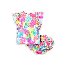 Kidding Around 2-Piece Feather Top and Diaper Cover Set