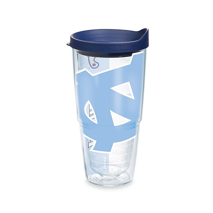 Alternate image 1 for Tervis® UNC Wilmington Seahawks Colossal 24-Ounce Wrap Tumbler with Lid