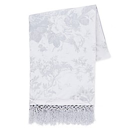 Wamsutta® Vintage Abigall Lace Throw Blanket in Grey
