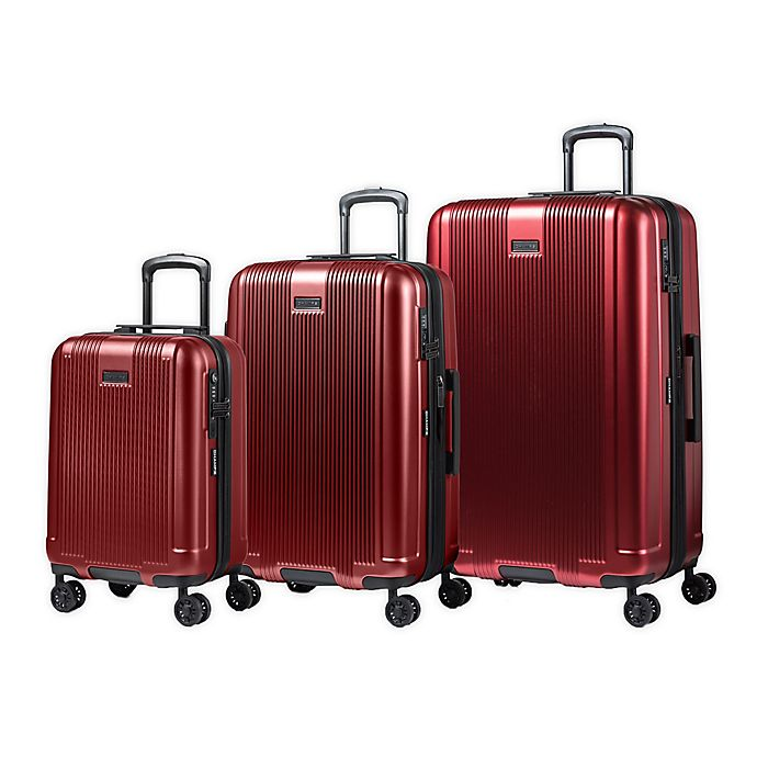 Alternate image 1 for CHAMPS Marquis 3-Piece Hardside Spinner Luggage Set
