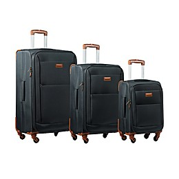 CHAMPS Classic 3-Piece Spinner Luggage Set