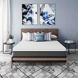 "Signature Sleep Flex 10"" Charcoal-Infused Gel Memory Foam Mattress"