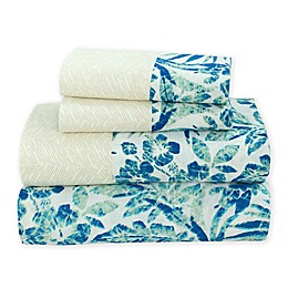 Coastal Life Tropical Fiji 144-Thread-Count Sheet Set