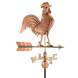 Good Directions 27-Inch Rooster Weathervane in Polished Copper Finish