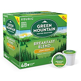Green Mountain Coffee® Breakfast Blend Keurig® K-Cup® Pods Value Pack 48-Count