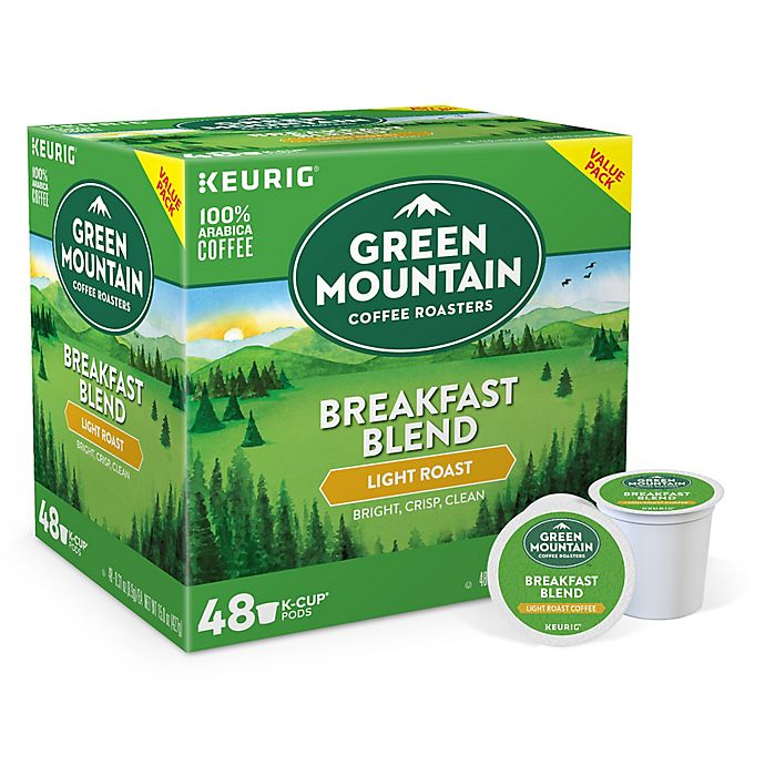 Alternate image 1 for Keurig® K-Cup® Pack 48-Count Green Mountain Coffee® Breakfast Blend Coffee