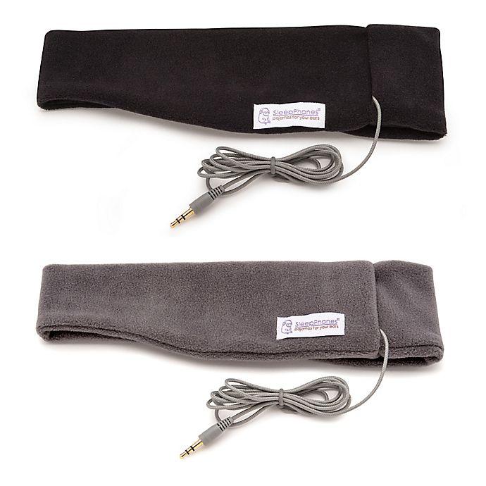 Alternate image 1 for AcousticSheep SleepPhones® Ultra-Slim Headphones
