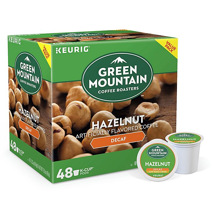 Alternate image 1 for Green Mountain Coffee® Decaf Hazelnut Coffee Keurig® K-Cup® Pods 48-Count