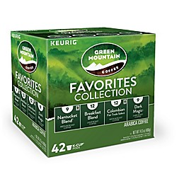 Keurig® K-Cup® Pack 42-Count Green Mountain Coffee® Favorites Collection