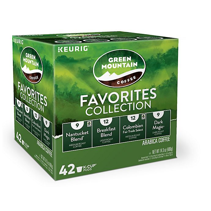 Alternate image 1 for Green Mountain Coffee® Favorites Keurig® K-Cup® Pods 42-Count