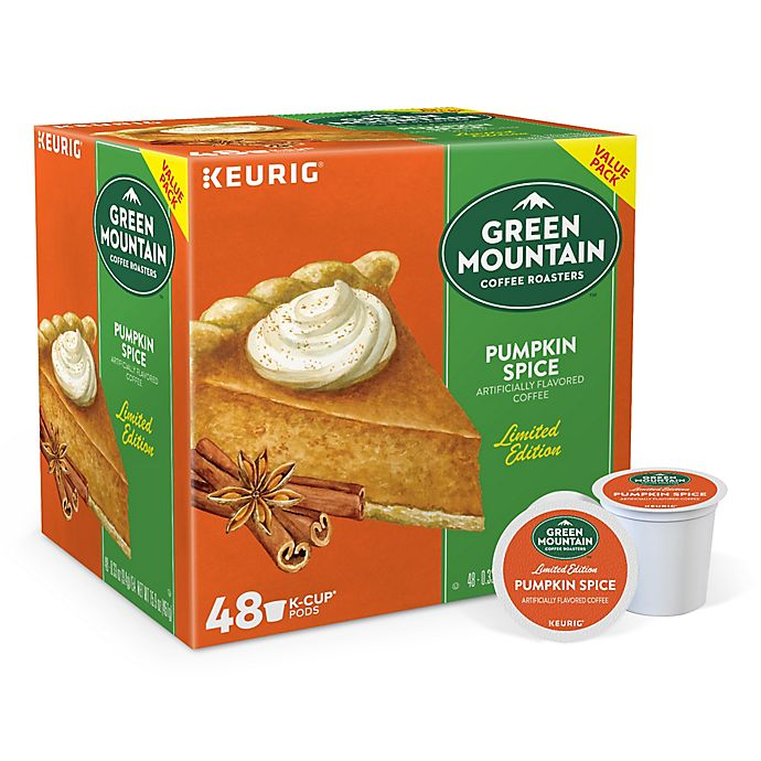 Alternate image 1 for Green Mountain Coffee® Pumpkin Spice Coffee Value Pack Keurig® K-Cup® Pods 48-Count