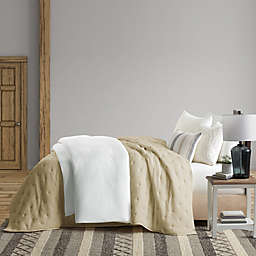 Bee & Willow™ Home Gauze Queen Coverlet in Oatmeal