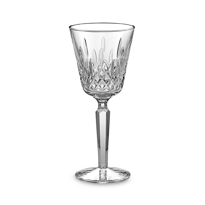 Alternate image 1 for Waterford® Lismore Platinum 4-Ounce Wine Glass