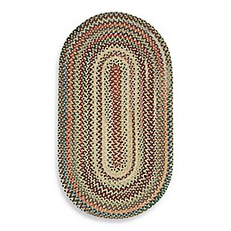 Capel Rugs Sherwood Forest Braided Rug in Wheat
