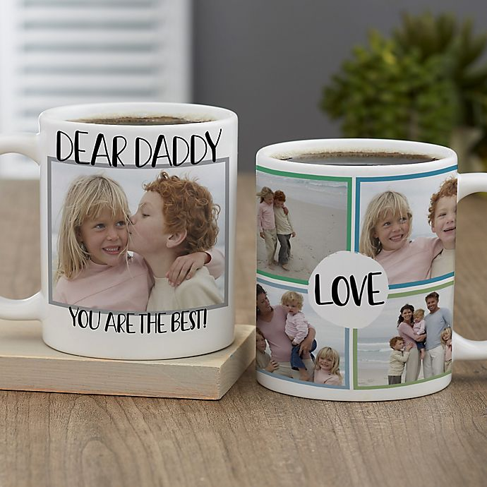 Alternate image 1 for Love Photo Collage Personalized Coffee Mug for Him 11 oz.
