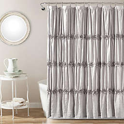Rosettes 72-Inch x 96-Inch Shower Curtain
