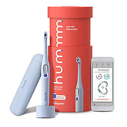 Hum Rechargeable Electric Toothbrush Starter Kit in Blue