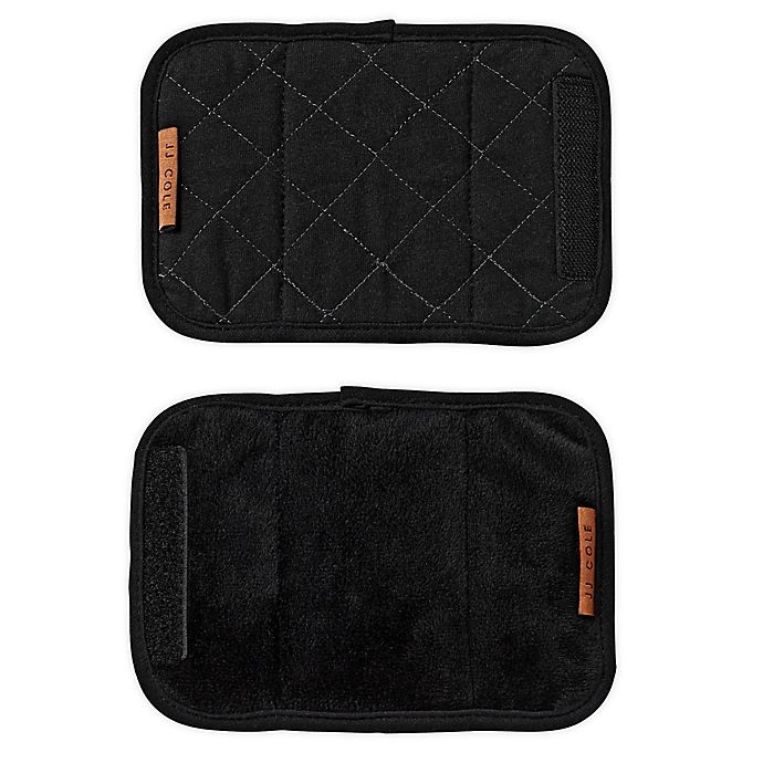 Alternate image 1 for JJ Cole Reversible Strap Covers Blackout Quilted