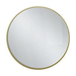 Savanna Mirror in Brass